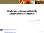 Lecture 25 Challenges in CO2 Abatement