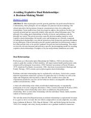 Avoiding Exploitive Dual Relationships- A Decision-Making Model.pdf