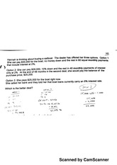 Accounting1010 Buying/Selling Sailboat Homework