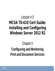 Chapter5Windows2012-70-410 ce