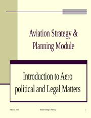 Chap 5-1aa Commercial Planning- Aeropolitical and legal factors.ppt