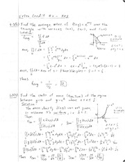 Final Exam Solutions on Calculus