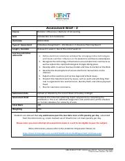Assessment Brief 2 - Individual Assignment