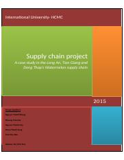 report supply chain- group phong