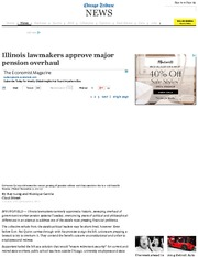 Illinois lawmakers approve major pension overhaul - chicagotribune(1)