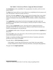 Sample comparative rhetorical analysis essay sample live in caregiver resume