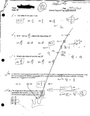 Inverse Trig and Trig Applications
