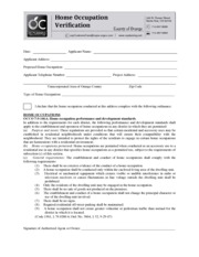 Home Occupation Form 8-7-12 Update