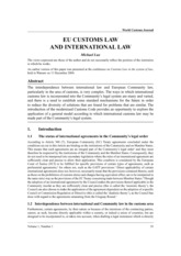 EU_customs_law_and_international_law