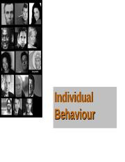 Individual Differences and Behaviour.ppt