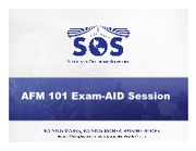 AFM 101 Exam-AID Slides
