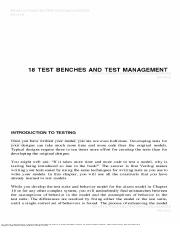 TestBenches and Test Management.pdf