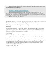 Accounting I - Disccussion - Week 9.docx