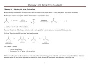 Chem 140C Lecture Notes  Spring 2015 Chapter 20