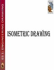 Lecture 12 - Isometric Drawing