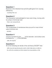 Chapter 4 Biology study questions.docx