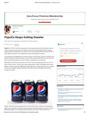 PepsiCo Keeps Getting Sweeter - GuruFocus.pdf