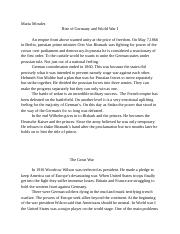 Rise of Germany and World War I.docx