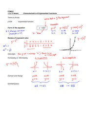 Characteristics of Function Graphs (Unit 1.2) - YouTube