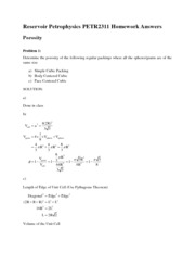 Lesson 2 Homework Solutions - Porosity