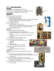 Exam 2 – Art Appreciation