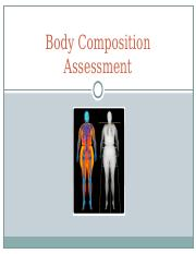 Body Composition Assessment.ppt