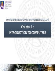 Introduction To Computers Pdf