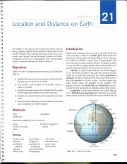 Location and Distance on Earth.PDF