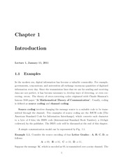 Math 422 introduction notes
