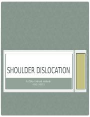 Shoulder dislocation.pptx
