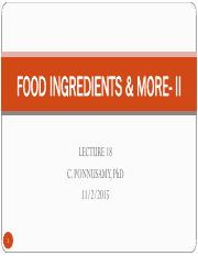 LEC+18+FOOD+INGREDIENTS+_+MORE-+II.pdf
