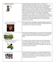 Environmental diseases slides and notes in Word document 2.0-1