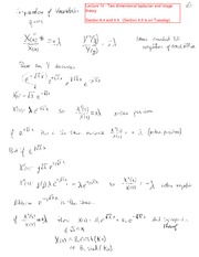 Lecture 10 - Laplacian and image theorem