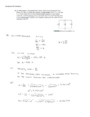 HW 10 Problems  & Solutions - EE 202 - Fall 2013