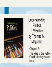 chapter2-TheIdeaOfThePublicGood_IdeologiesAndIsms.ppt