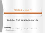 FIN365 Lecture 2 2016 - Part 1