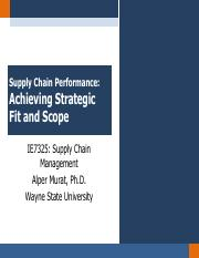 Chapter 2 - Achieving Strategic Fit and Scope-Updated