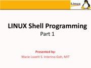 LINUX Shell Programming_2015