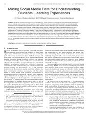 Mining Social Media Data for Understanding Students' Learning Experiences.pdf
