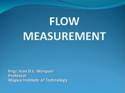 _Energy Equation - Flow Measurement