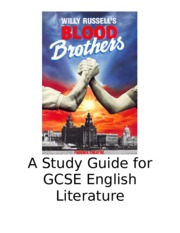 A Study Guide for GCSE English Literature