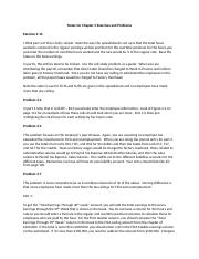 Notes for Chapter 3 Exercises and Problems.docx