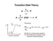 Lecture 13 on Mechanisms of Chemical Reactions
