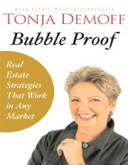 Demoff - Bubble Proof; Rear Estate Strategies That Work in Any Market (2007)