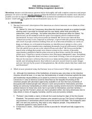 ENG2223 Mod. 3 Writing Assignment American Lit..doc
