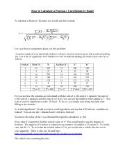 How to Calculate a Pearson r Correlation by Hand.docx