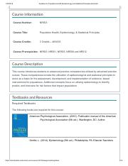 Syllabus for Population Health Epidemiology and Statistical Principles.pdf