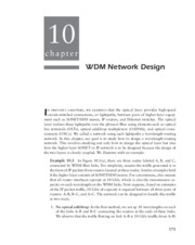 Optical Networks - _Chapter 10 WDM Network Design_116