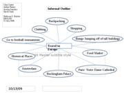 Informal Essay Outline Example
