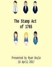 The Stamp Act of 1765.ppt
